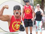 Hulk Hogan with wife Jennifer McDaniel and Nightclub mogul David Grutman after gym workout in Miami Beach.\n\nPictured: hulk hogan, jennifer mcdaniel\nRef: SPL1266449  220416  \nPicture by: Splash News\n\nSplash News and Pictures\nLos Angeles: 310-821-2666\nNew York: 212-619-2666\nLondon: 870-934-2666\nphotodesk@splashnews.com\n