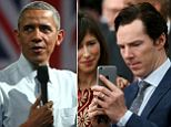 Obama Cumberbatch puff