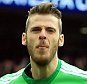 23 April 2016 - Emirates FA Cup - Semi-Final - Everton v Manchester United - Manchester United goalkeeper, David de Gea celebrates the winning goal - Photo: Marc Atkins / Offside.