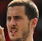 Eden Hazard of Chelsea applauds the fans after the Barclays Premier League match between AFC Bournemouth and Chelsea played at The Vitality Stadium, Bournemouth on April 23th 2016