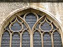 Reuleaux triangles on a window of Sint-Baafskathedraal, Ghent 2.jpg