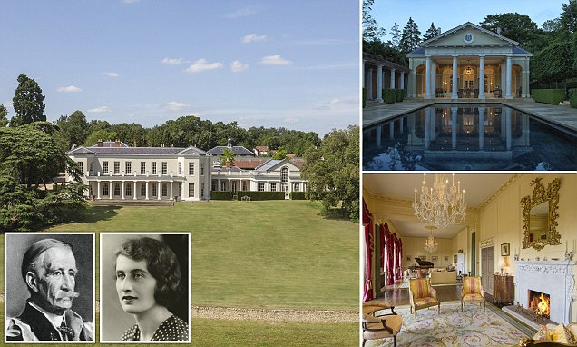 Woolmers Park that was family home of Queen's grandparents is on the market for