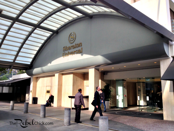 sheraton universal hotel in Los Angeles