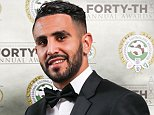 *STRICTLY EMBARGOED FOR ALL USAGES UNTIL 00.01 MONDAY APRIL 25, 2016, OR UNTIL AN OFFICAL WINNERS ANNOUNCEMENT IS MADE VIA THE @PFA TWITTER ACCOUNT* Leicester City's Riyad Mahrez poses with his PFA Player of the year award during the 2016 PFA Awards at the Grosvenor House Hotel, London. PRESS ASSOCIATION Photo. Picture date: Sunday April 24, 2016. See PA story SOCCER PFA. Photo credit should read: Barrington Coombs/PA Wire.