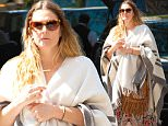 EXCLUSIVE: Drew Barrymore looks comfortable covering up on a sunny day wearing a poncho as she enjoys the day with a girlfriend in New York City. Drew seemed to be in good spirits. \n\nPictured: Drew Barrymore\nRef: SPL1269281  230416   EXCLUSIVE\nPicture by: PC-NWP / Splash News\n\nSplash News and Pictures\nLos Angeles: 310-821-2666\nNew York: 212-619-2666\nLondon: 870-934-2666\nphotodesk@splashnews.com\n