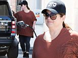 Exclusive... 52032653 'Ghostbusters' actress Melissa McCarthy is spotted filling up her gas tank in Los Angeles, California on April 23, 2016. Melissa was later approached by someone who was in need of gas and she was nice enough to fill up his portable tank! FameFlynet, Inc - Beverly Hills, CA, USA - +1 (310) 505-9876