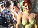 Exclusive... 52033358 Happy couple Ariel Winter and Laurent Claude Gaudette are spotted packing on the PDA during day 12 of the 2016 Coachella Valley Music & Arts Festival Weekend 2 on April 23, 2016 in Indio, California. Ariel was rocking a realign ensemble while enjoying the festival with her beau. FameFlynet, Inc - Beverly Hills, CA, USA - +1 (310) 505-9876