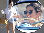 Exclusive... 52032727 Reality star Kendall Jenner visits her dad in Malibu on April 23, 2016. After her visit, she stopped by a friend's house in Los Angeles FameFlynet, Inc - Beverly Hills, CA, USA - +1 (310) 505-9876