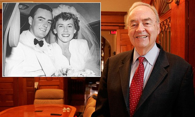Harris Wofford will marry his new male partner fifty years his junior