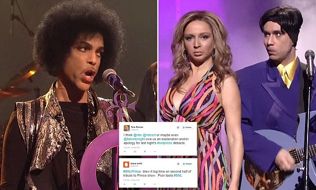 SNL airs 'distasteful' and 'embarrassing' skits featuring Fred Armisen as Prince