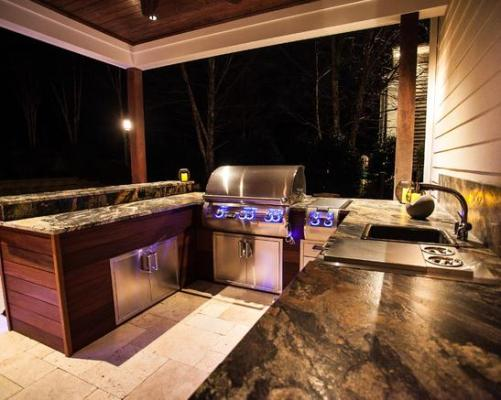 carolina outdoor kitchen sink