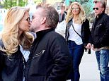 Mandatory Credit: Photo by Curtis Means/ACE Pictures/REX/Shutterstock (5660102p)\nChristie Brinkley, John Mellencamp\nChristie Brinkley and John Mellencamp out and about, New York, America - 25 Apr 2016\nChristie Brinkley and John Mellencamp leave a downtown hotel\n