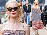 EXCLUSIVE: Kate Bosworth steps out wearing a casual dress, while out an about in New York City, the actress was walking while shopping along 5TH Avenue with a Pal.\n\nPictured: Kate Bosworth\nRef: SPL1269332  220416   EXCLUSIVE\nPicture by: Felipe Ramales / Splash News\n\nSplash News and Pictures\nLos Angeles: 310-821-2666\nNew York: 212-619-2666\nLondon: 870-934-2666\nphotodesk@splashnews.com\n