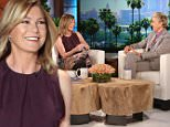 Star of ¿Grey¿s Anatomy¿  ELLEN POMPEO joins ¿The Ellen DeGeneres Show¿ on Monday, April 25th and talks to Ellen about buying a new house and their mutual love of design.   Ellen Pompeo also shares with Ellen what its been like on set without former co-star Patrick Dempsey and how much can get done without a penis!  Plus, Ellen surprises Ellen Pompeo with her MTV Moon Man when the Taylor Swift 'Bad Blood¿ video she starred in won video of the year at the MTV Awards.