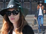 Emma Roberts wearing a black fedora out and about in L.A.\n\nPictured: Emma Roberts.\nRef: SPL1269383  230416  \nPicture by: JLM / Splash News\n\nSplash News and Pictures\nLos Angeles: 310-821-2666\nNew York: 212-619-2666\nLondon: 870-934-2666\nphotodesk@splashnews.com\n