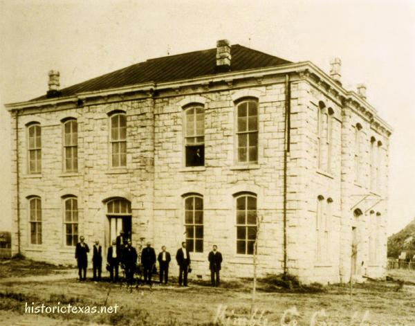 Kimble County Courthouse, Junction, Texas 1885-1929