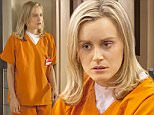 Television Programme: Orange is the New Black with Taylor Schilling as Piper Chapman.\n\n\n\n\non Netflix\nImage downloaded fromhttp://www.lionsgate.com/tv/orangeisthenewblack/