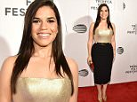 'Special Correspondents' Premiere - 2016 Tribeca Film Festival In NYC\n\nPictured: America Ferrera\nRef: SPL1269265  220416  \nPicture by: Richard Buxo / Splash News\n\nSplash News and Pictures\nLos Angeles: 310-821-2666\nNew York: 212-619-2666\nLondon: 870-934-2666\nphotodesk@splashnews.com\n