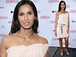 Mandatory Credit: Photo by Aurora Rose/REX/Shutterstock (5660146at)\nPadma Lakshmi\n'Fully Committed' Broadway play opening night, New York, America - 25 Apr 2016\n