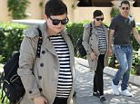 Picture Shows: Ginnifer Goodwin, Josh Dallas  April 25, 2016\n \n Pregnant Ginnifer Goodwin and husband Josh Dallas are spotted out for lunch in Beverly Hills, California. The pair were seen holding hands as they made their way down the street. \n \n Non Exclusive\n UK RIGHTS ONLY\n \n Pictures by : FameFlynet UK © 2016\n Tel : +44 (0)20 3551 5049\n Email : info@fameflynet.uk.com