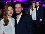 25/04/2016\nDoctor Faustus ø Gala Opening Night aft party\nKit Harington with his  girlfriend, Rose Leslie