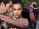 Irina Shayk is seen at an outdoor photo shoot in Central Park in NYC   Pictured: Irina Shayk Ref: SPL1270384  250416   Picture by: Alberto Reyes/Splash News  Splash News and Pictures Los Angeles: 310-821-2666 New York: 212-619-2666 London: 870-934-2666 photodesk@splashnews.com