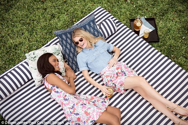 Revealed: Reese's first campaign with Draper James features spring time florals and nautical stripes
