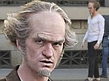 04/25/2016\nEXCLUSIVE: Neil Patrick Harris spotted as Count Olaf in Netflix�s A Series of Unfortunate Events filming in Vancouver today. The actor looked almost unrecognizable on set today in clothes.  Series of Unfortunate Events tells the story of the three orphaned children who are made to leave their mansion to live with their distant relative Count Olaf. Turns out he�s scheming to get their inheritance.\nsales@theimagedirect.com Please byline:TheImageDirect.com\n*EXCLUSIVE PLEASE EMAIL sales@theimagedirect.com FOR FEES BEFORE USE