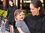 Coco Rocha and daughter Ioni wearing Crocs and clothing Co+Co photographed in New York City, April 18, 2016\\nPhoto by Jennifer Graylock-Graylock.com\\n917-519-7666