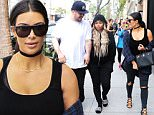 Kim Kardashian, Rob Kardashian & Blac Chyna have lunch at Nat'n Al's in Beverly Hills\n\nPictured: Kim Kardashian, Rob Kardashian & Blac Chyna\nRef: SPL1269765  260416  \nPicture by: LA Photo Lab / Splash News\n\nSplash News and Pictures\nLos Angeles: 310-821-2666\nNew York: 212-619-2666\nLondon: 870-934-2666\nphotodesk@splashnews.com\n