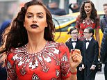 Irina Shayk does a Vogue photoshoot on the UES, NYC\n\nPictured: Irina Shayk\nRef: SPL1269733  260416  \nPicture by: Jackson Lee / Splash News\n\nSplash News and Pictures\nLos Angeles: 310-821-2666\nNew York: 212-619-2666\nLondon: 870-934-2666\nphotodesk@splashnews.com\n