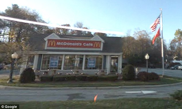 Highly skilled: A McDonald's outpost in Winchedon, Massachusetts, pictured, has just posted a call-out for a full time cashier - but insists only college graduates need apply
