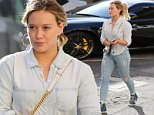 *EXCLUSIVE* Beverly Hills, CA - Hilary Duff visits the nail salon on Tuesday afternoon. The 28-year-old actress is wearing head to toe denim donning light wash ripped jeans and a denim button up paired with denim high top sneakers. \n  \nAKM-GSI       April 26, 2016\nTo License These Photos, Please Contact :\nSteve Ginsburg\n(310) 505-8447\n(323) 423-9397\nsteve@akmgsi.com\nsales@akmgsi.com\nor\nMaria Buda\n(917) 242-1505\nmbuda@akmgsi.com\nginsburgspalyinc@gmail.com