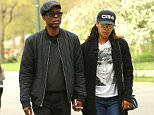 Chris Rock along with his girlfriend Megalyn Echikunwoke was seen holding hands and chatting while strolling through Central park in New York City.  Pictured: Chris Rock and Megalyn Echikunwoke Ref: SPL1269331  250416   Picture by: Felipe Ramales / Splash News   Splash News and Pictures Los Angeles: 310-821-2666 New York: 212-619-2666 London: 870-934-2666 photodesk@splashnews.com