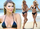 EXCLUSIVE. COLEMAN-RAYNER \nLos Angeles CA, USA. April 24, 2016.\nFormer Real Housewives of Beverly Hills reality star, Brandi Glanville, plays around with a hula hoop on a Los Angeles beach. The 43 year old flaunted her trim new look bikini body ahead of the US summer. \nCREDIT LINE MUST READ: Jeff Rayner/Coleman-Rayner\nTel US (001) 323 545 7548 - Mobile\nTel US (001) 310 474 4343 - Office\nwww.coleman-rayner.com