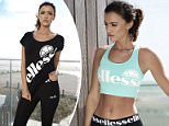 Lucy Mecklenburgh Models New ellesse Range for JD Sports Spring Campaign ELLESSE WITH LUCY MECKLENBURGH Photographed by John Wright