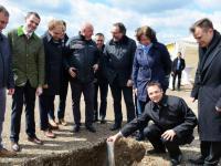 Fotostrecke Grundsteinlegung im Vitelliuspark Wittlich