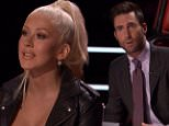 The Voice April 25, 2016. \n?The Voice? The coaches paid tribute to Prince to open the show. The Top 11 Finalists sang. One more is sent home tomorrow night. The coaches are Adam Levine, Blake Shelton, Christina Aguilera and Pharrell Williams. The host is Carson Daly