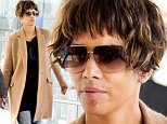 25.April.2016  - London - UK\n**EXCLUSIVE PICTURES**\nActress Halle Berry arrives at Heathrow Airport from Los Angeles holding her son Maceo. Halle was spotted with a huge spot on her chin. \nBYLINE MUST READ : XPOSUREPHOTOS.COM\n***UK CLIENTS - PICTURES CONTAINING CHILDREN PLEASE PIXELATE FACE PRIOR TO PUBLICATION***\nUK CLIENTS MUST CALL PRIOR TO TV OR ONLINE USAGE PLEASE TELEPHONE 0208 344 2007