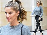 Gisele Bundchen heads to the Late Show with Jimmy Fallon in NYC.\n\nPictured: Gisele Bundchen\nRef: SPL1270963  270416  \nPicture by: Ron Asadorian /Splash News\n\nSplash News and Pictures\nLos Angeles: 310-821-2666\nNew York: 212-619-2666\nLondon: 870-934-2666\nphotodesk@splashnews.com\n