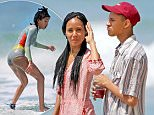 EXCLUSIVE: Jada Pinkett Smith hangs out on the beach and watches Willow surf while on vacation in Hawaii on April 21, 2016.\n\nPictured: Jada Pinkett Smith\nRef: SPL1267363  210416   EXCLUSIVE\nPicture by: Splash News\n\nSplash News and Pictures\nLos Angeles: 310-821-2666\nNew York: 212-619-2666\nLondon: 870-934-2666\nphotodesk@splashnews.com\n