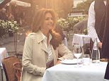"""3h cindycrawford#BTS On set in Rome ? stay tuned ??"""""""