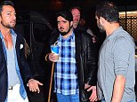 """EXCLUSIVE: **STRICTLY NO WEB AND NO PRINT UNTIL 4PM EST WED APRIL 27 2016** Prince Abdul Aziz bin Faud, of Saudi Arabia, was spotted partying at a NYC Nightclub on Monday night. The rarely photographed Royal, has gotten a reputation as a playboy, and party staple in NY, LA and Las Vegas. His net worth is rumored to be upwards of $90 Billion Dollars. Abdul Aziz was spotted surrounded by his private security guards as he entered """"Avenue Nightclub"""". He dressed down, in Leather strap sandals, and his favorite Blue plaid shirt. He carried a large Fountain beverage and a cane in his hand as he made his grand entry.  Pictured: Saudi Prince Abdul Aziz bin Faud Ref: SPL1270615  270416   EXCLUSIVE Picture by: Splash News  Splash News and Pictures Los Angeles: 310-821-2666 New York: 212-619-2666 London: 870-934-2666 photodesk@splashnews.com"""