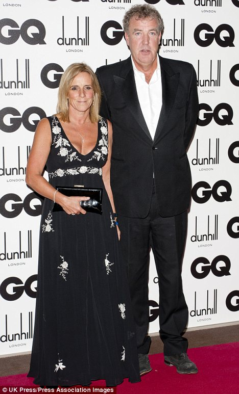 Holding on: Jeremy Clarkson has made it clear that he values his relationship with his wife Francie