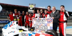 Orudzhev wins race, Rowland secures title
