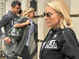 27th April 2016: Kelly Ripa returning to her Upper East Side Manhattan town house this afternoon, the popular TV presenter has returned to work on ABC's Live with Kelly and Michael morning show. The eponymous host wore a pair of white sneakers before heading out to the gym.