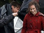 "April 25, 2016    * Min Web Fee After £200 for set *    American actor Brad Pitt is spotted filming scenes for ""Allied"".    Set in World War 2 Pitt is seen here approaching the dead body of his co-star Lizzy Caplan and placing his coat over her body in the rain.    The scenes were filmed in Southern England.    * Min Web Fee After £200 for set **    EXCLUSIVE ALL ROUNDER  WORLDWIDE RIGHTS  Pictures by : FameFlynet UK © 2016  Tel : +44 (0)20 3551 5049  Email : info@fameflynet.uk.com"