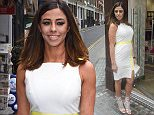 Picture Shows: Pascal Craymer  April 28, 2016\n \n Former reality television personality Pascal Craymer arrives at the BLOCH Dance World Cup launch held in London, England.\n \n The star of 'The Only Way Is Essex' was wearing a knee-length white dress with a pale yellow panel and high-heeled silver sandals.\n \n Non Exclusive\n WORLDWIDE RIGHTS\n \n Pictures by : FameFlynet UK © 2016\n Tel : +44 (0)20 3551 5049\n Email : info@fameflynet.uk.com