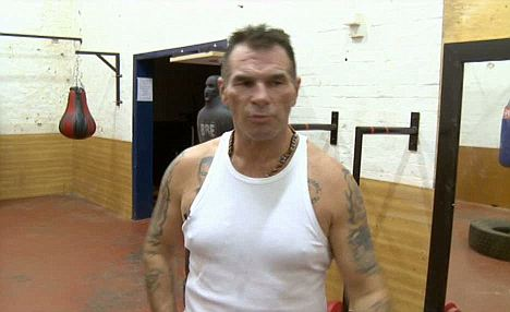 Hardnut: Paddy Doherty, who appeared in channel 4's My Big Fat Gypsy Wedding, told the court his tough nut image was 'just a front' for the cameras
