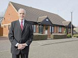 MONEY MAIL - Andrew Couldrake outside his mother's retirement bungalow in Shenley Lodge, Milton Keynes. He was left with a bill from the landlord for £24,000 when it was sold. (ANDREW DOESN'T HAVE ORIGINAL COPIES OF HIS MOTHER IN HER YOUNGER DAYS, JUST LOW  RES COPIES)